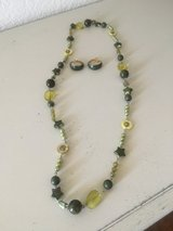 Green necklace/earrings in Alamogordo, New Mexico