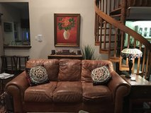 Brown leather couch. Msg me for pics. in Lackland AFB, Texas