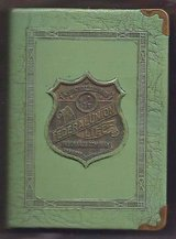 Antique Federal Union Life Insurance Book Bank-1920's era in Great Lakes, Illinois
