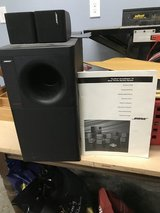 Bose subwoofer and 2 speakers in Conroe, Texas