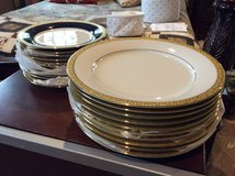Dinner and salad plates in Kingwood, Texas