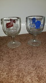 2 Collectible Beer Glasses in Elgin, Illinois