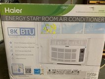 Haier 8K BTU window air conditioner with remote in Glendale Heights, Illinois