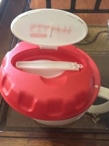 EZ Heat Stay Fit bowl with spoon in lid in Oswego, Illinois