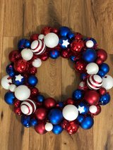 4th of July Wreath in Fort Campbell, Kentucky
