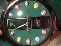 Pool table Clock in Glendale Heights, Illinois