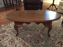 Leister Oak coffee table Reduced Big! Reduced! in Beaufort, South Carolina