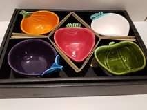 Set of 5 Small Side Dishes Vegetable Motif in Westmont, Illinois