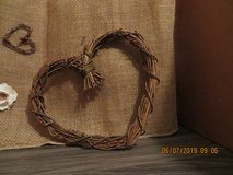 Natural Rattan Heart in Naperville, Illinois