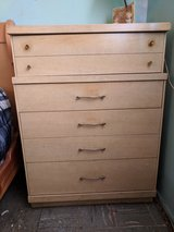 Dresser, chest of drawers set in 29 Palms, California