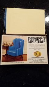 House of Miniatures #40016 Chippendale Wing Chair Kit in Batavia, Illinois