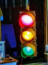 traffic signal custom wired in Cherry Point, North Carolina