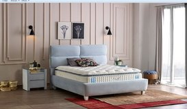 United Furniture - King Size Cloud Storage Bed + 2 x  Night Stand + Mattress + Delivery in Spangdahlem, Germany