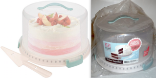 New! Sweet Creations 3pc Cake Carrier Set in Joliet, Illinois
