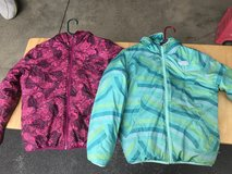 Girls North Face Coats great condition Reversible in Chicago, Illinois