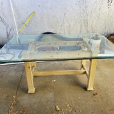 Glass Top Dining Table in Travis AFB, California