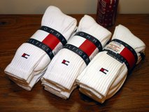 New Tommy Hilfiger Athletic Crew Socks 9 Pairs in Glendale Heights, Illinois