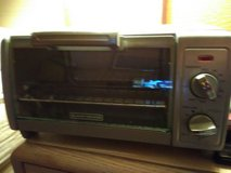 Black and decker toaster oven in Macon, Georgia