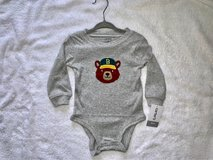 NWT Baby Boy Long Sleeve Onesie in Naperville, Illinois