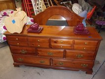 Seven Drawer Dresser with Mirror in Fort Riley, Kansas