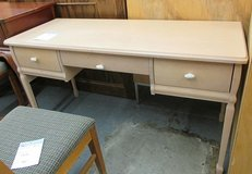 Light Wood Desk made in Canada in Bartlett, Illinois