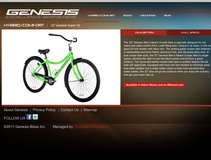 Genesis Super 32 bike in Fort Leonard Wood, Missouri