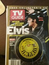 Collectable Elvis Presley T.V. Guide with CD's in Warner Robins, Georgia