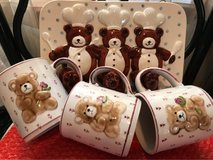 Buttercup kitchen wall hanger with teddy bear cups in Alamogordo, New Mexico
