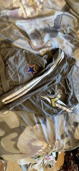 army patch light jacket in Chicago, Illinois