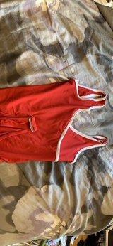 red and white soft body suit in Chicago, Illinois