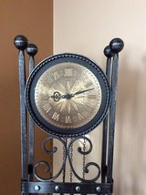Retro German Wrought Iron Clock in Fort Riley, Kansas
