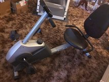 Recumbent exercise bike in Glendale Heights, Illinois