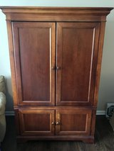 Large Armoire - solid wood in Naperville, Illinois