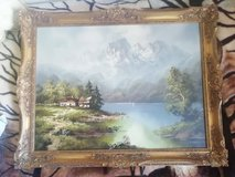 Old Oil painting / antique in Ramstein, Germany