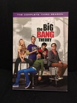 The Big Bang Theory Season 3 dvds in Cherry Point, North Carolina