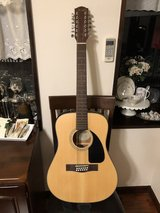 Fender 12 String Acoustic Guitar in Okinawa, Japan