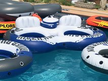 Intex River Run 2 /Sport Lounge Inflatable Water Float w/ Cooler in Perry, Georgia