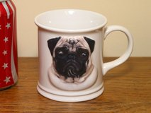 Pug Dog Coffee Cup in Chicago, Illinois