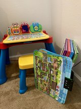 VTECH touch and learn activity desk deluxe in Travis AFB, California