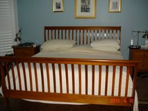 King Size Sleigh Bed Frame in Houston, Texas