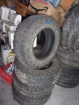 BF Goodrich Set of Four Tires in Fort Riley, Kansas