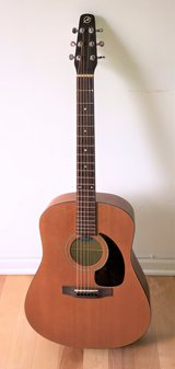 Seagull Coastline S6 Acoustic Guitar Natural + Case & New Strings in St. Charles, Illinois