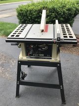 """Like New Pro-tech 10"""" table saw w/stand in Glendale Heights, Illinois"""