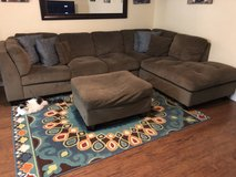 Sectional Couch & Ottoman in 29 Palms, California