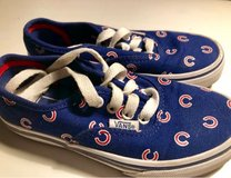 Chicago Cubs Vans Shoes girls size 12 in Glendale Heights, Illinois