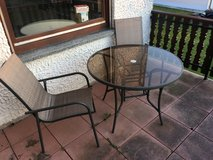 Patio table & chairs in Spangdahlem, Germany
