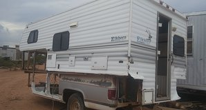 bed-camper and trailer in Alamogordo, New Mexico