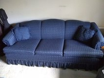 Navy Blue Couch in Shorewood, Illinois