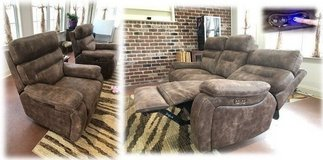 Reclining Couch & Recliners Set in Warner Robins, Georgia
