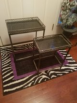 Pier 1 / Black / Iron Marble Stack Table Set in Fort Campbell, Kentucky